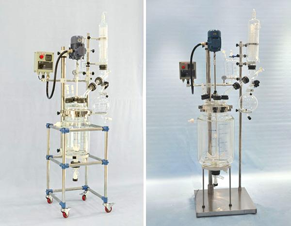 双层玻璃反应釜(10~100L)